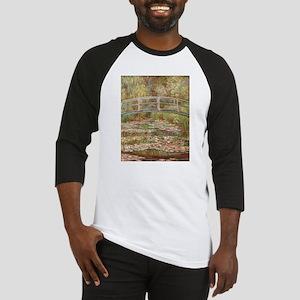Monet's Japanese Bridge and Wa Baseball Jersey