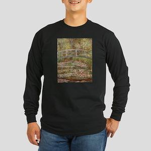 Monet's Japanese Bridge an Long Sleeve T-Shirt