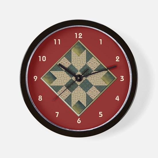 Unique Blocks Wall Clock