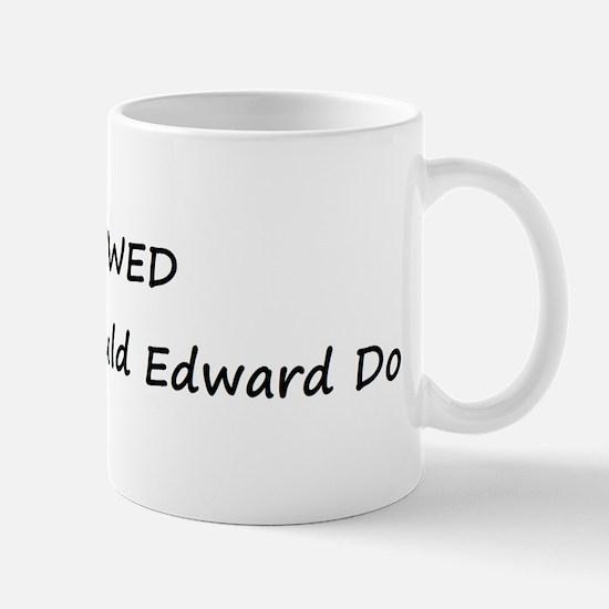 WWED What Would Edward Do Mug