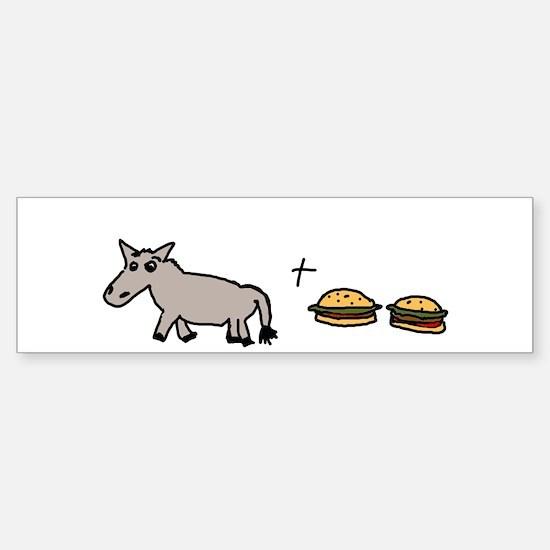 Assburgers Sticker (Bumper)