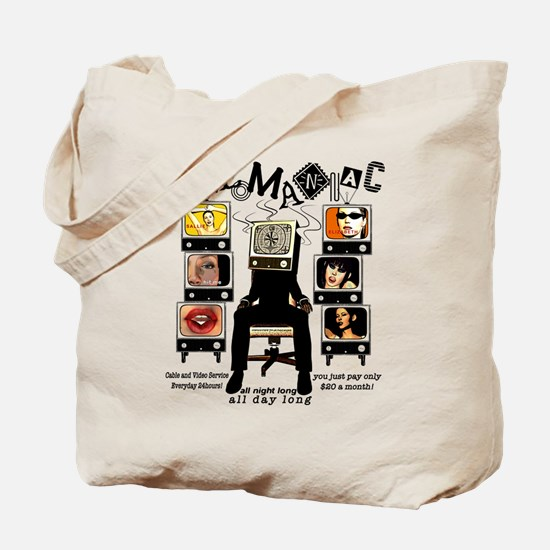 VIDEO MANIAC Tote Bag