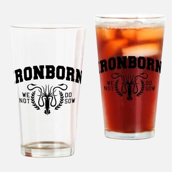 GOT Ironborn College Style Drinking Glass