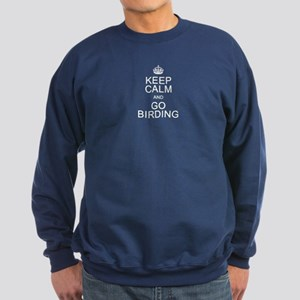 Keep Calm & Go Birding Sweatshirt (dark)