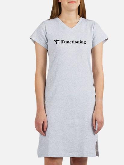 Chai Functioning Women's Nightshirt