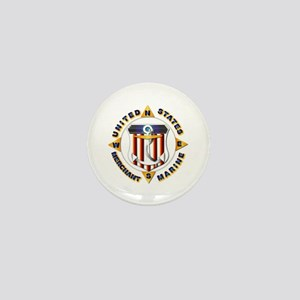 Emblem - US Merchant Marine Mini Button