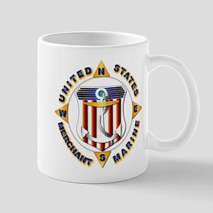 Emblem - US Merchant Marine Mug
