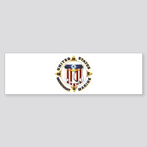 Emblem - US Merchant Marine Sticker (Bumper)