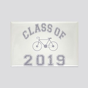 Class Of 2019 Cyclist Rectangle Magnet