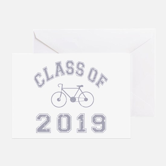 Class Of 2019 Cyclist Greeting Card