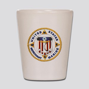 Emblem - US Merchant Marine - USMM Shot Glass
