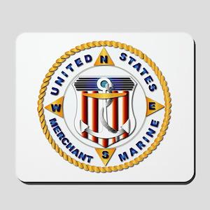 Emblem - US Merchant Marine - USMM Mousepad