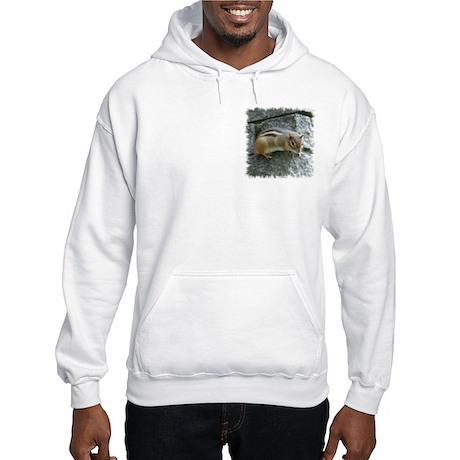 Eastern Chipmunk Hooded Sweatshirt