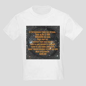 In the Beginning... Kids Light T-Shirt