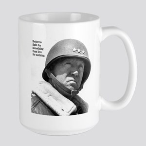 George Patton Large Mug