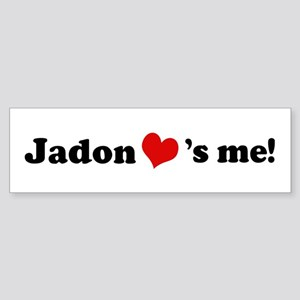 Jadon loves me Bumper Sticker