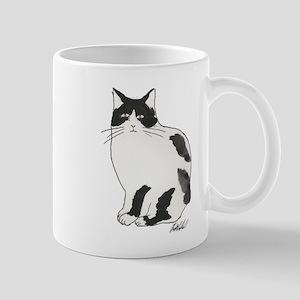 New Black and white cat Mug