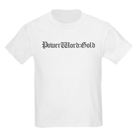 PW:G Logo - Kids Light T-Shirt