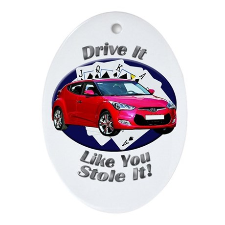 Hyundai Veloster Ornament (Oval)