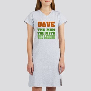 DAVE - The Lengend Women's Nightshirt
