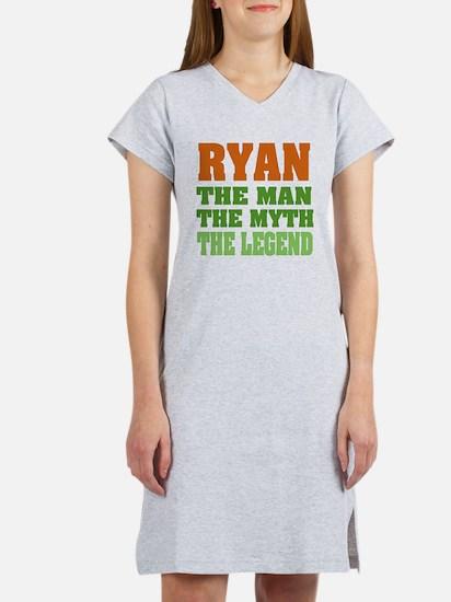 RYAN - the legend! Women's Nightshirt