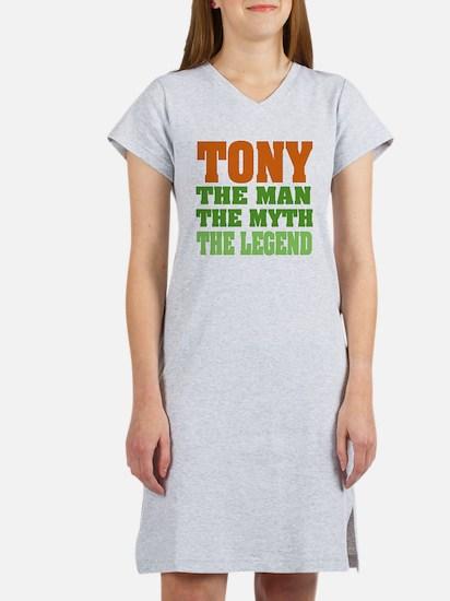 TONY - The Legend Women's Nightshirt