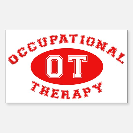 Occupational Therapy Rectangle Decal