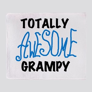 Totally Awesome Grampy Throw Blanket