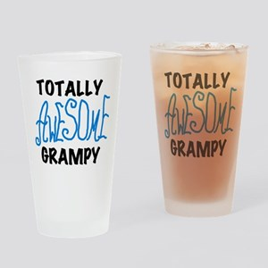 Totally Awesome Grampy Drinking Glass