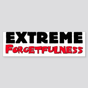 Extreme Forgetfulness