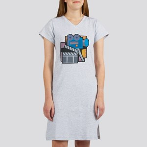 Film Making Women's Nightshirt