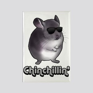 Chinchillin' 2 Gifts Rectangle Magnet