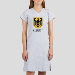 German Coat of Arms Women's Nightshirt