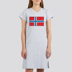 Norway Flag Women's Nightshirt