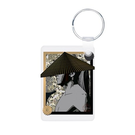 Illusion Aluminum Photo Keychain