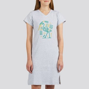 Tribal Crane Women's Nightshirt