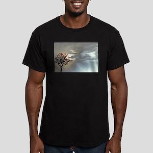 Serenity at Dusk Men's Fitted T-Shirt (dark)