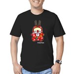 PeRoPuuu6 Men's Fitted T-Shirt (dark)