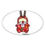 PeRoPuuu6 Sticker (Oval 10 pk)