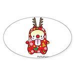 PeRoPuuu6 Sticker (Oval 50 pk)