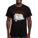 PeRoPuuu9 Men's Fitted T-Shirt (dark)