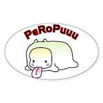 PeRoPuuu9 Sticker (Oval)