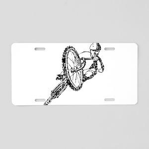 Worn, Mountain Bike Aluminum License Plate