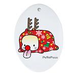 PeRoPuuu5 Ornament (Oval)