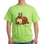 PeRoPuuu5 Green T-Shirt