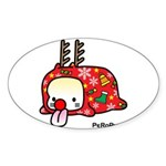 PeRoPuuu5 Sticker (Oval 10 pk)