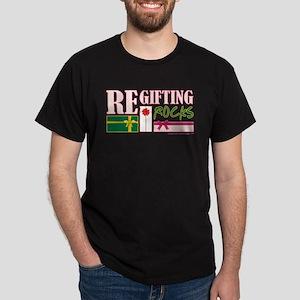 REGIFTING ROCKS Dark T-Shirt