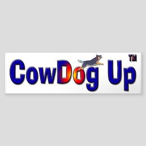 """""""CowDog Up"""" TM Sticker (Bumper)"""