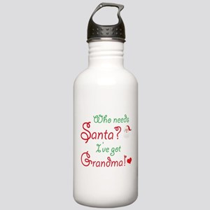 Who needs Santa? Stainless Water Bottle 1.0L