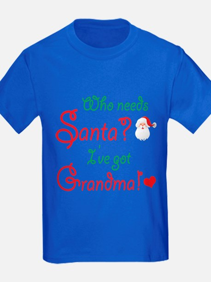 Who needs Santa? T